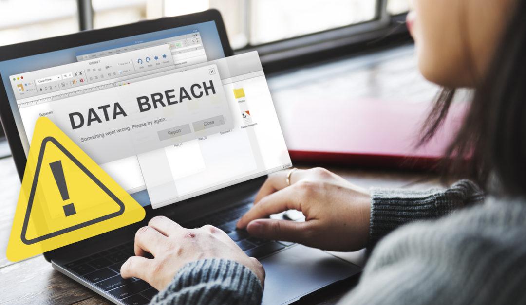 data breach laptop